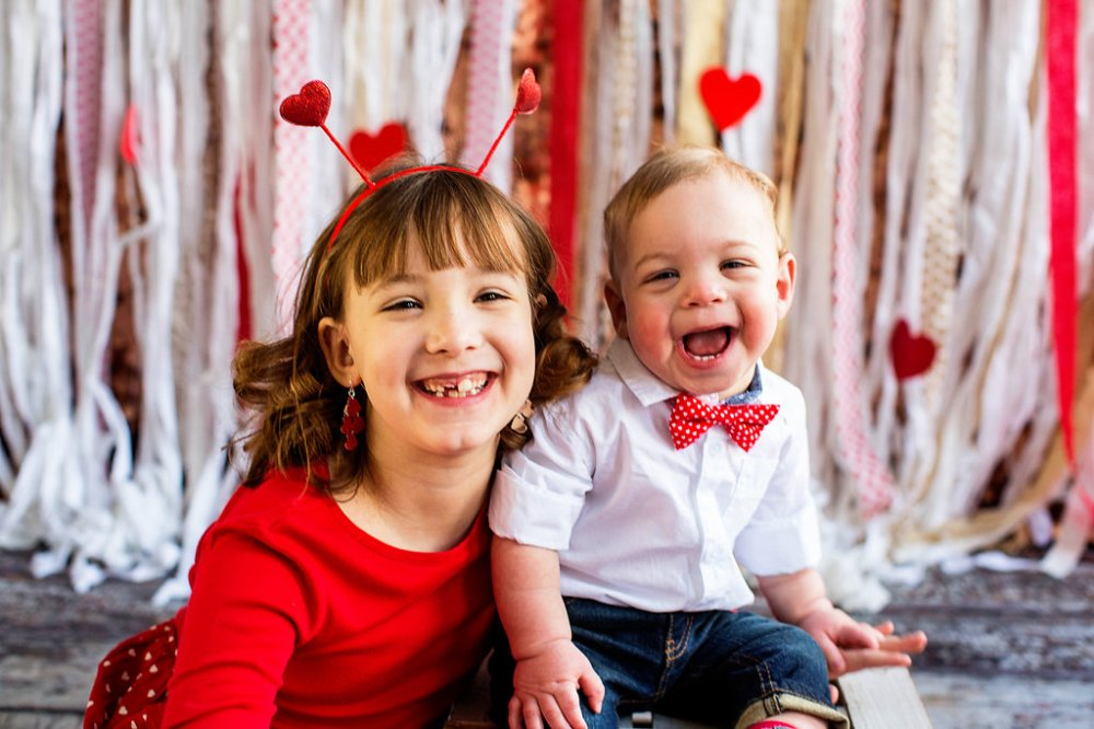 kids portraits, CHD awareness